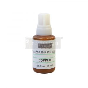 Redesign Decor Ink Refill - Copper - 0.5 oz refill
