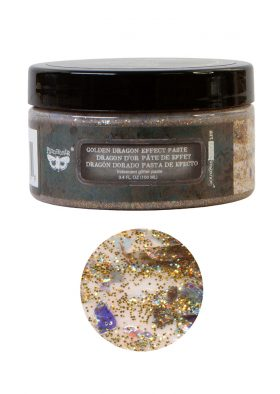 Art Extravagance - Golden Dragon Effect Paste - 1 jar, 100ml