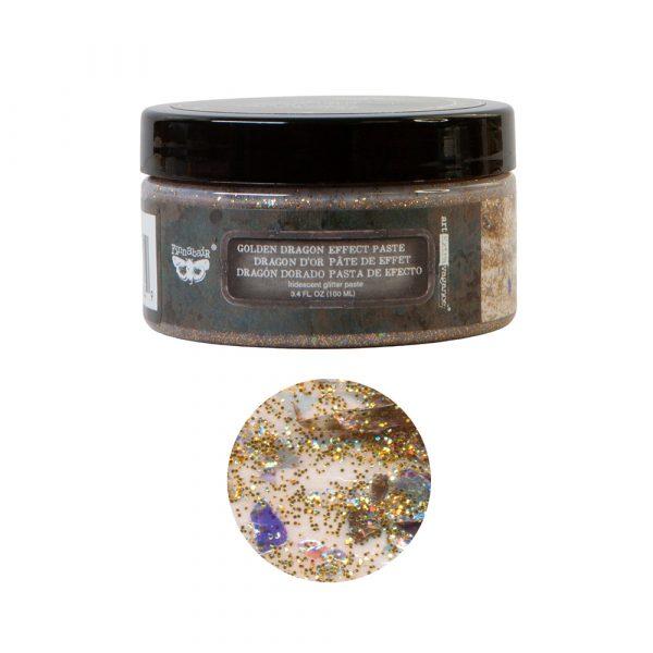 Art Extravagance - Golden Dragon Effect Paste - 1 jar, 100ml