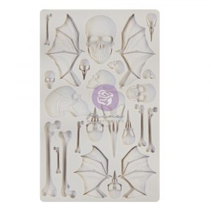 Finnabair - Moulds - Wings and Bones - 1 pc, 5x8 in