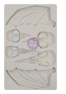 Finnabair - Moulds - Birds and Bats - 1 pc, 5x8 in