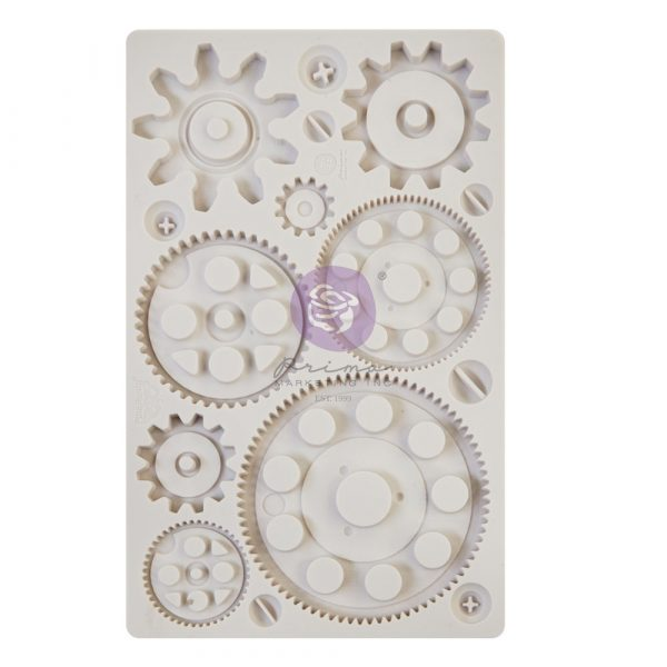 Finnabair - Moulds - Machine Parts - 1 pc, 5x8 in