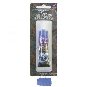 Art Alchemy - Matte Wax - French Lavender  - 1 tube, 20 ml