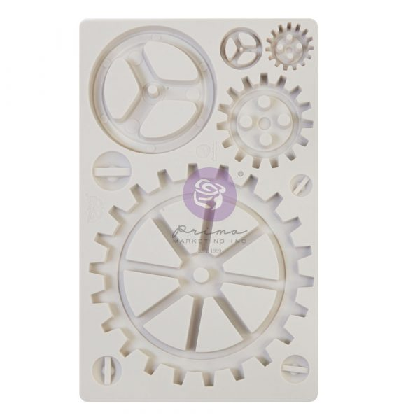 Finnabair - Moulds - Large Gears - 1 pc, 5x8 in