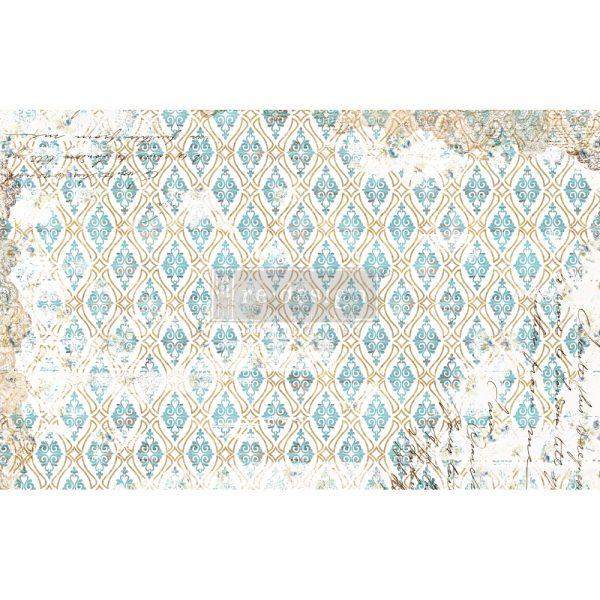 "Redesign Decoupage Décor Tissue Paper - Distressed Deco - 1 sheet, 19""x30"""