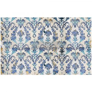 "Redesign Decoupage Décor Tissue Paper - Cobalt Flourish - 1 sheet, 19""x30"""