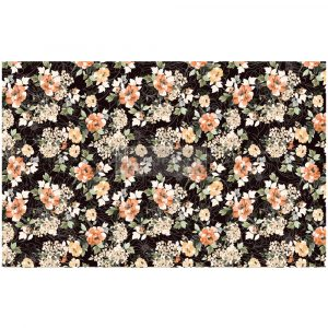 "Redesign Decoupage Décor Tissue Paper - Midnight Amber - 1 sheet, 19""x30"""