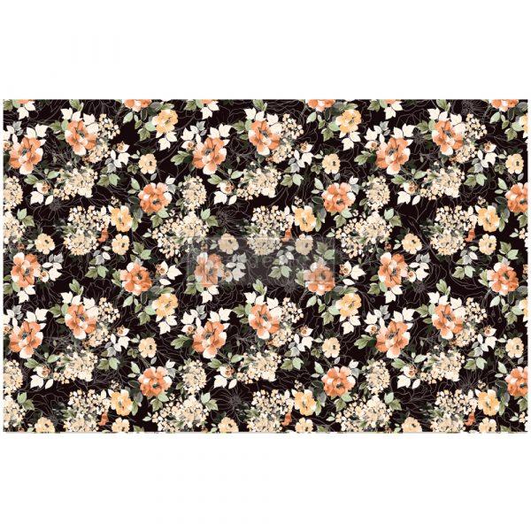 "Redesign Decoupage Décor Tissue Paper - Midnight Amber - 1 sheet, 19""x30"""