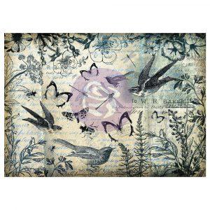 Art Daily - Decorative Paper - Wilderness - 6 sheets, 70cm x 50cm