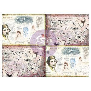 Art Daily - Decorative Paper Journaling Minis - Ladies' World - 6 sheets, 70cm x 50cm