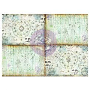 Art Daily - Decorative Paper Journaling Minis - Celestial Music - 6 sheets, 70cm x 50cm