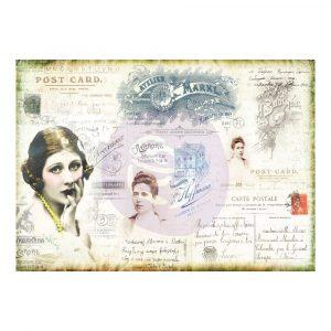 Finnabair Tissue Paper Carte Postale