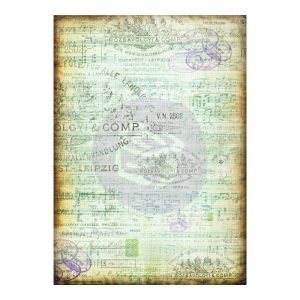 Finnabair Tissue Paper Musica