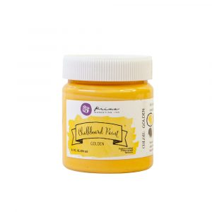 Chalkboard Paint - Golden - 1 jar, 8.5 fl oz (250 ml)