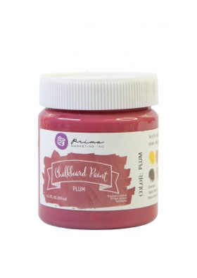 Chalkboard Paint - Plum - 1 jar, 8.5 fl oz (250 ml)