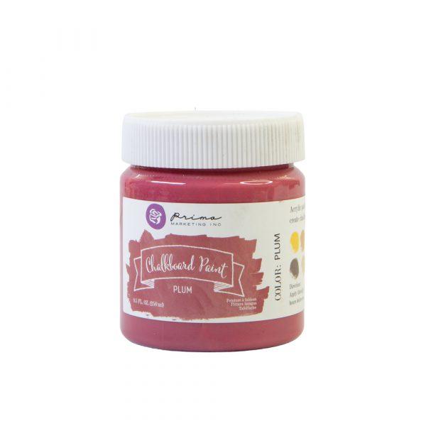 Chalkboard Paint - Plum - 1 jar, 8.5 fl oz (250 ml)