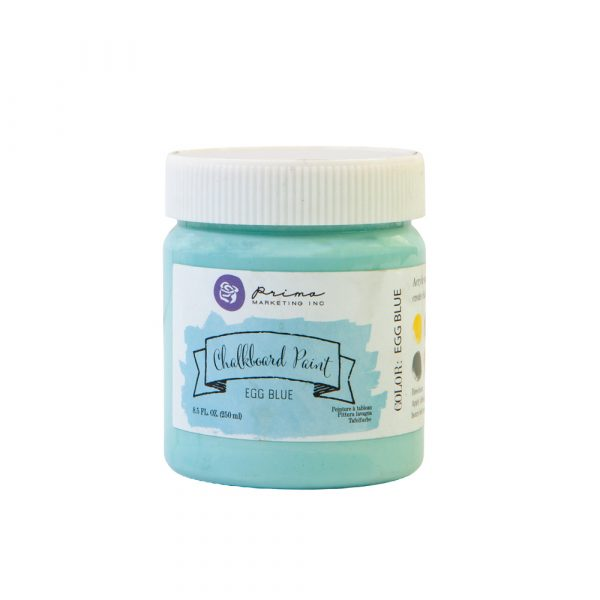 Chalkboard Paint - Egg Blue - 1 jar, 8.5 fl oz (250 ml)