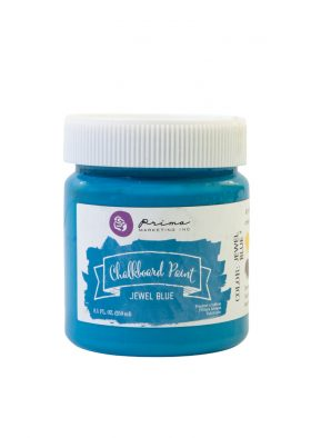 Chalkboard Paint - Blue Jewel - 1 jar, 8.5 fl oz (250 ml)