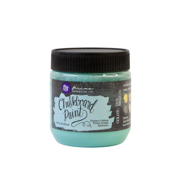 Chalkboard Paint - Sea Breeze - 1 jar, 8.5 fl oz (250 ml)