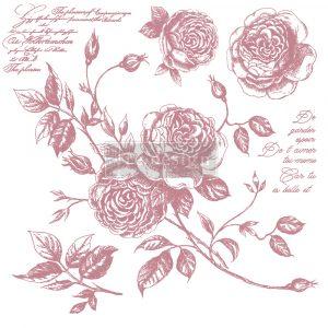 "Redesign Decor Stamp - Romance Roses - 12""x12"" (6 pcs)"