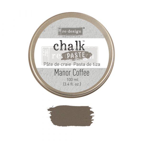 Redesign Chalk Paste - Manor Coffee - 1 jar, 100 ml (3.4 fl oz)