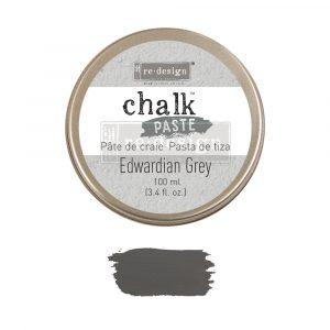 Redesign Chalk Paste - Edwardian Grey - 1 jar, 100 ml (3.4 fl oz)