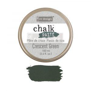 Redesign Chalk Paste - Crescent Green - 1 jar, 100 ml (3.4 fl oz)