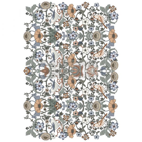 """Redesign Decor Transfers® - Albery - Total sheet size 24""""x35"""", cut into 2 sheets"""
