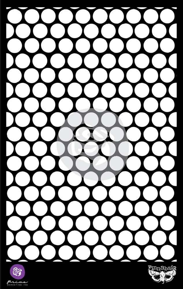 6.5X10.25 Stencil - Honeycomb - 1 pc