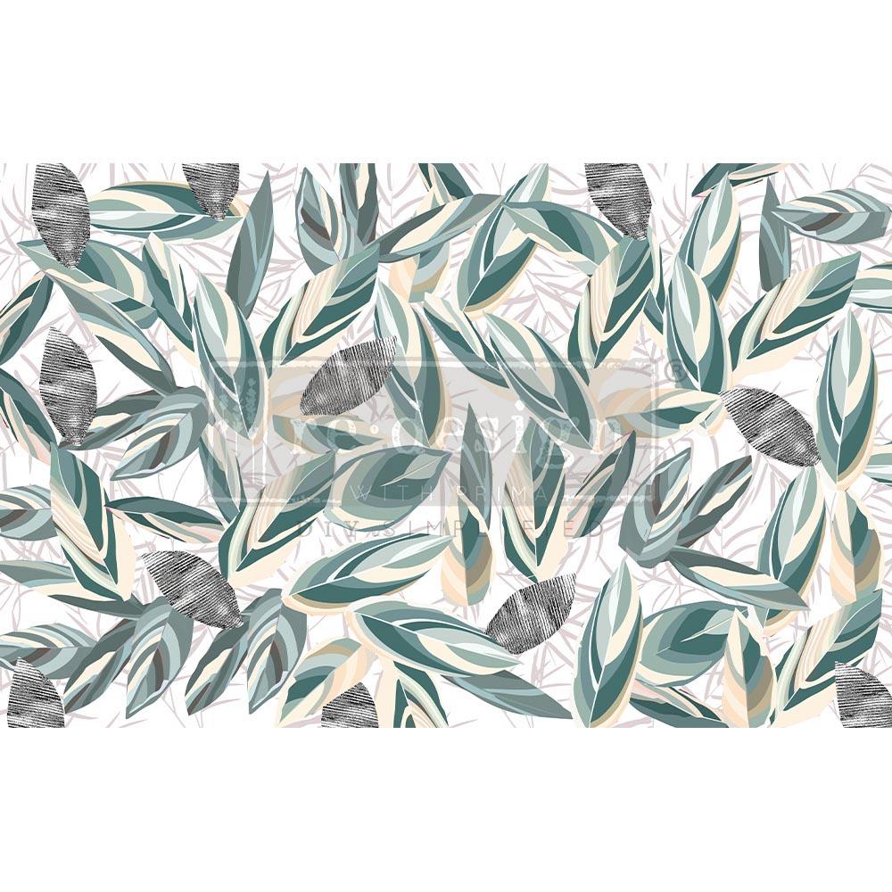 "Decoupage Decor Tissue Paper - Radiant Eucalyptus - 1 sheet, 19""x30"""