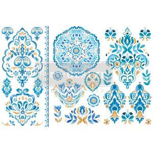 "Decor Transfers® - Artisinal Tile - 3 sheets, 6""x12"""