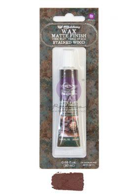Art Alchemy Matte Wax - Stained Wood - 1 tube, 20ml