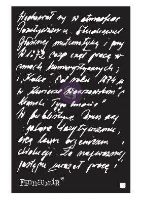"""Finnabair Stencil - Ghostwriter - 1 piece, 6""""x9"""""""